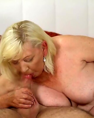 unshaved grandmother pussy banged firm