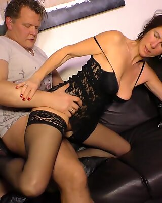 XXX OMAS - Hardcore fucking with German mature lady