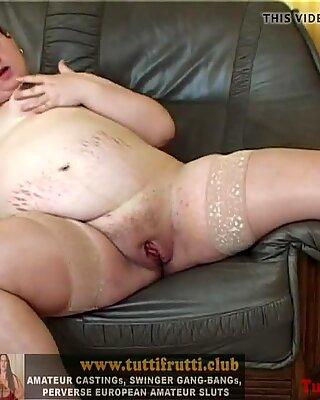 Fat pregnant euro mom first porn