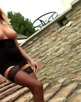 EXPORNTUBE milf Got 2 yam-sized Cock In Ass And Pussy Part 1