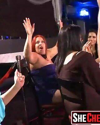 32 Massive  Hot sluts caught fucking at club 13