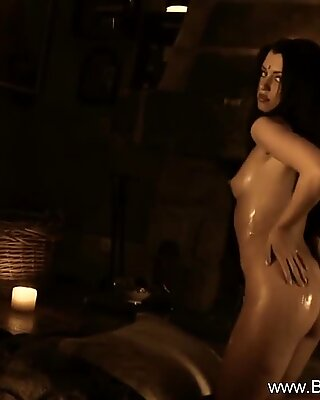 Absolutely jaw-dropping Indian gf nude