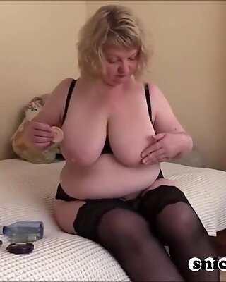 plumper big tits hot mom big man sausage black cock assfuck cum mature