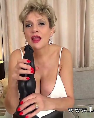 JOI from Lady Sonia while she teases you with her toy