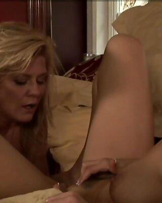 Mature dyke licking shy milfs wet pussy