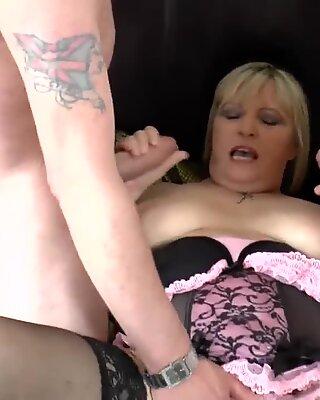 AgedLovE Alisha Rydes Hardcore Threesome Action