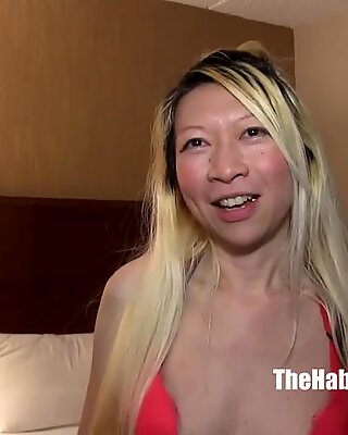 chinese hairy pussy petite veronica mei lee fucked by bbc ro