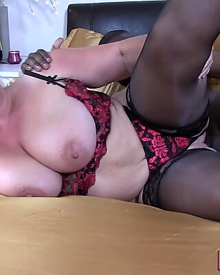 Lacey Starr gobbles bbc