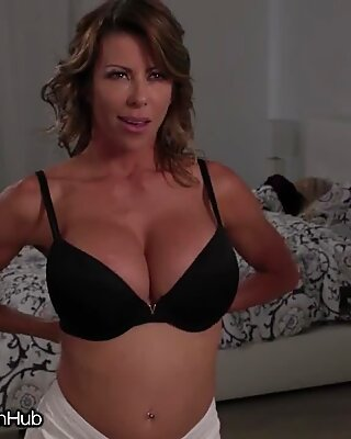 MommysGirl Alexis Fawx Sits on Step-Daughter`s Face