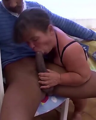 bbw midget granny interracial fucked
