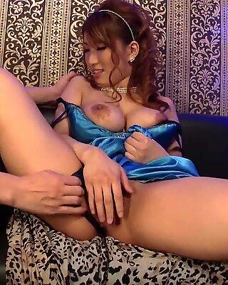 JAVHUB Threesome with big tit JAV idol Yume Mizuki