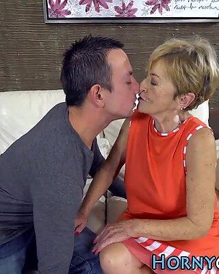Older women gets pounded