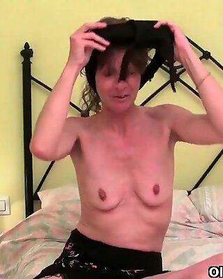 Granny knows darn well that her old pussy will get you hard
