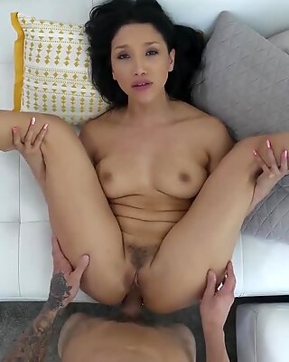Hardcore anal with an Asian