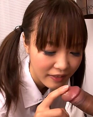 Fat pussy lips Asian teen penetration