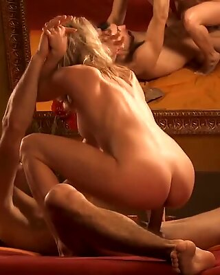 An Intimate Love Making Session From Wild Blonde MILF