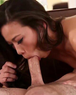 asian Step mother Blows dick [Instagram - @asianwetladies]