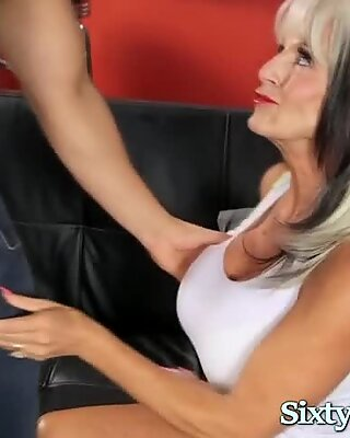 Granny Fucked in Ass