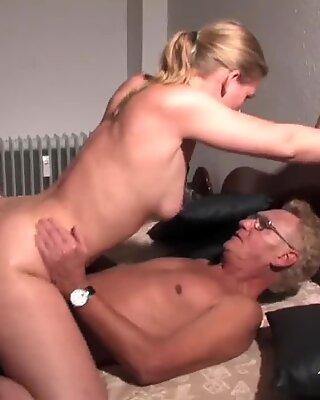 Threesome cum on my wife