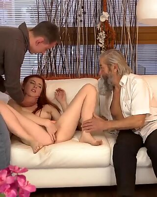 Blonde granny solo xxx Unexpected experience with an older gentleman