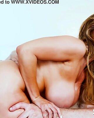 Asian MILF Kianna Dior double vaginal penetration
