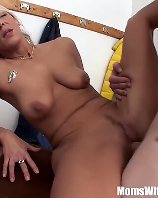 Oldie And Young Cock Sex In Dressing Room
