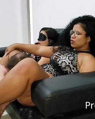 Went to rent an apartment and finished fucking the 2 bbw pornstar from Rio de Janeiro Suzy Furacao and Sorayyaa - part 1