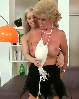Grandmas and Teens Sex and Pussy Licking