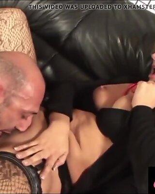 Omar Galanti with Eva Viola who loves squirting