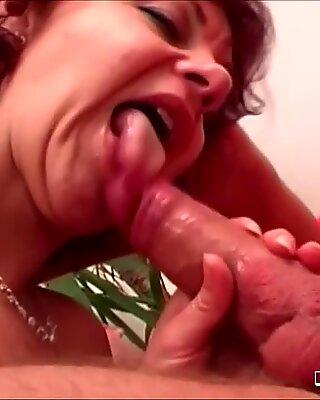 Granny slut wants  young cock