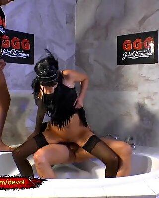 Sexy Stella Star Pissing Gangbang - GGGDevot