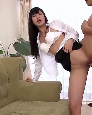 Complete threesome in rough modes for Kotomi Asakura
