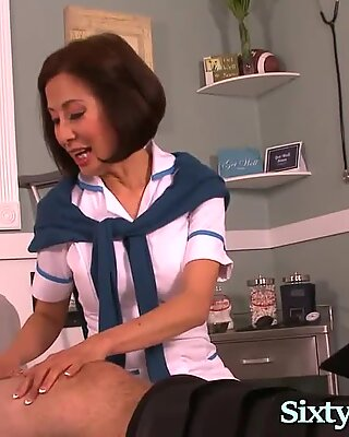 Sexy Asian Milf Loves Big Cock