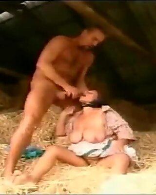 Big tits granny give blowjob deepthroat