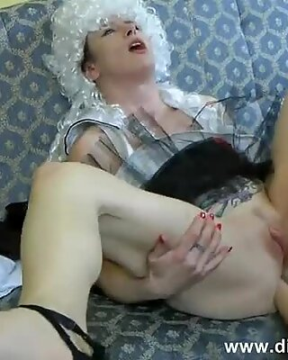 Deep Anal Fisting By Two Kinky Chicks