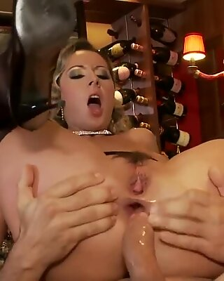 Horny Daria Glower Ass Fucked At The Bar By Kinky Client