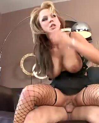 Busty slut Nikki Sexxx takes a big dick in a wild hard fuck session