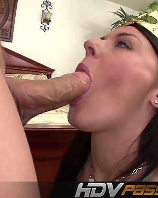 HDVPass Sophie Dee is cranked up to blow and fuck