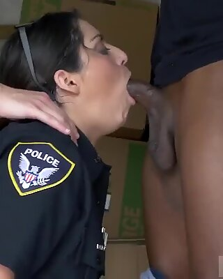 British ebony milf and mexican amateur interracial first time Black suspect taken on a