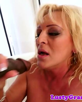 Bigtitted granny gets banged by bbc