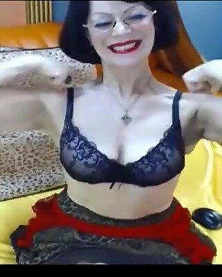 Big Tits Granny Gets Naughty On Webcam
