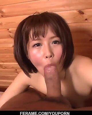 Mature cock riding home porn with Seira Matsuoka - More at Slurpjp com