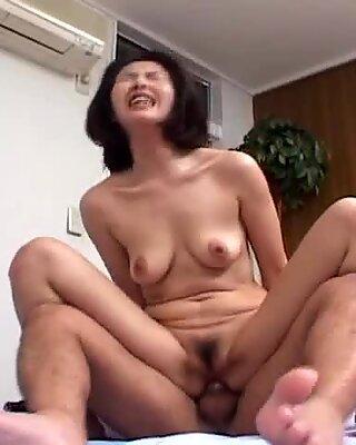 Moaning Japanese chick Kyoko Hayama gets boned hard