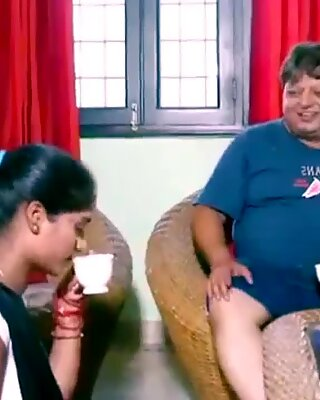 ANALANINE-Hot indian maid makes the day well