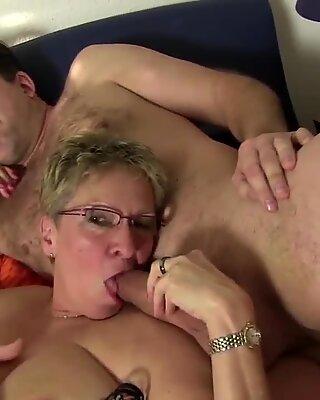 AMATEUR EURO - Amature German Group Sex - Erna & Oda Amelie